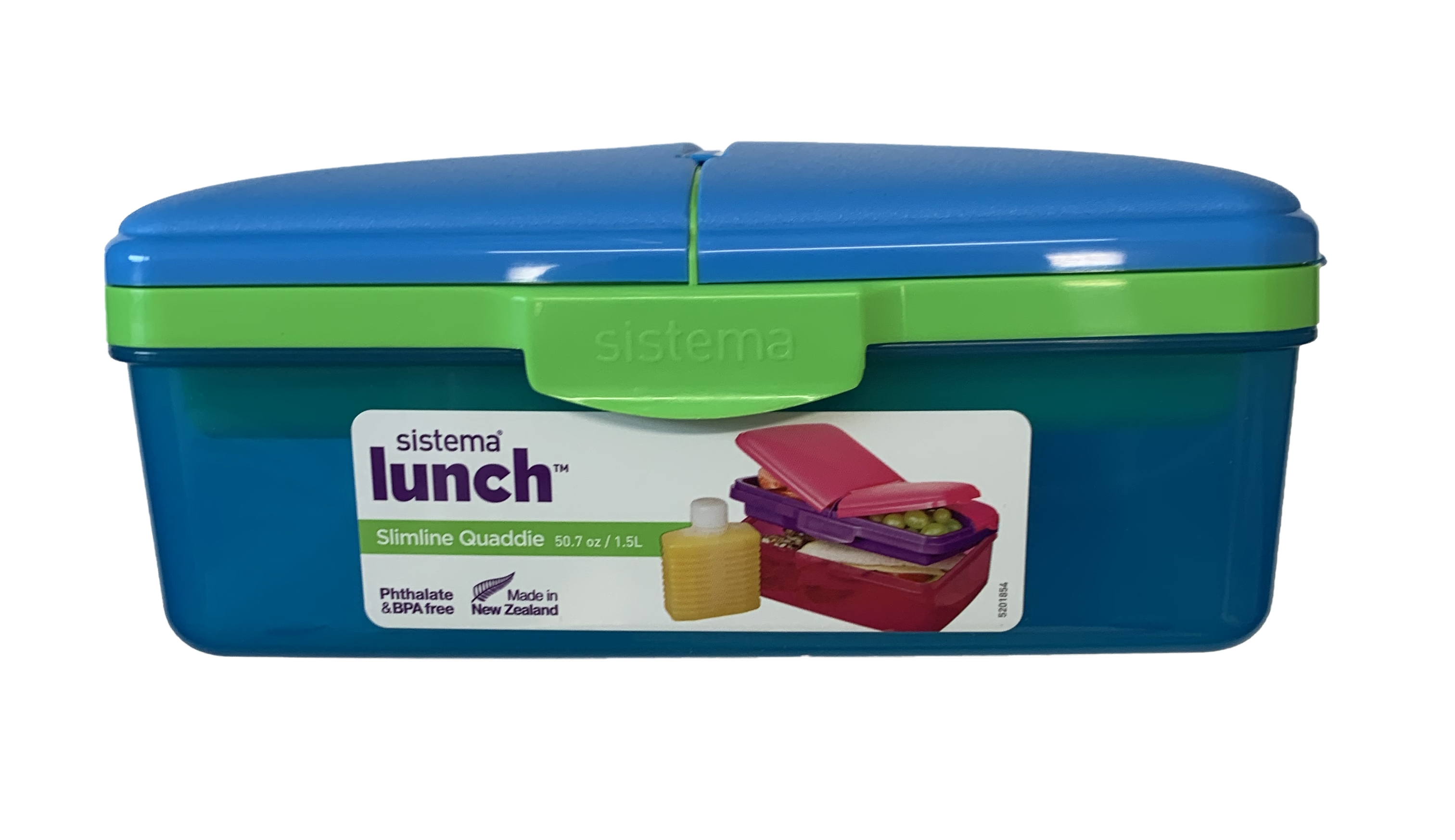 Sistema Lunch Box Blue