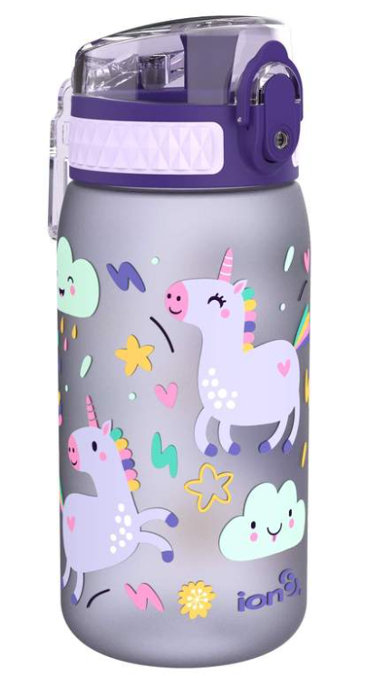 ION 8 Leakproof Water Bottle 350ml Unicorn
