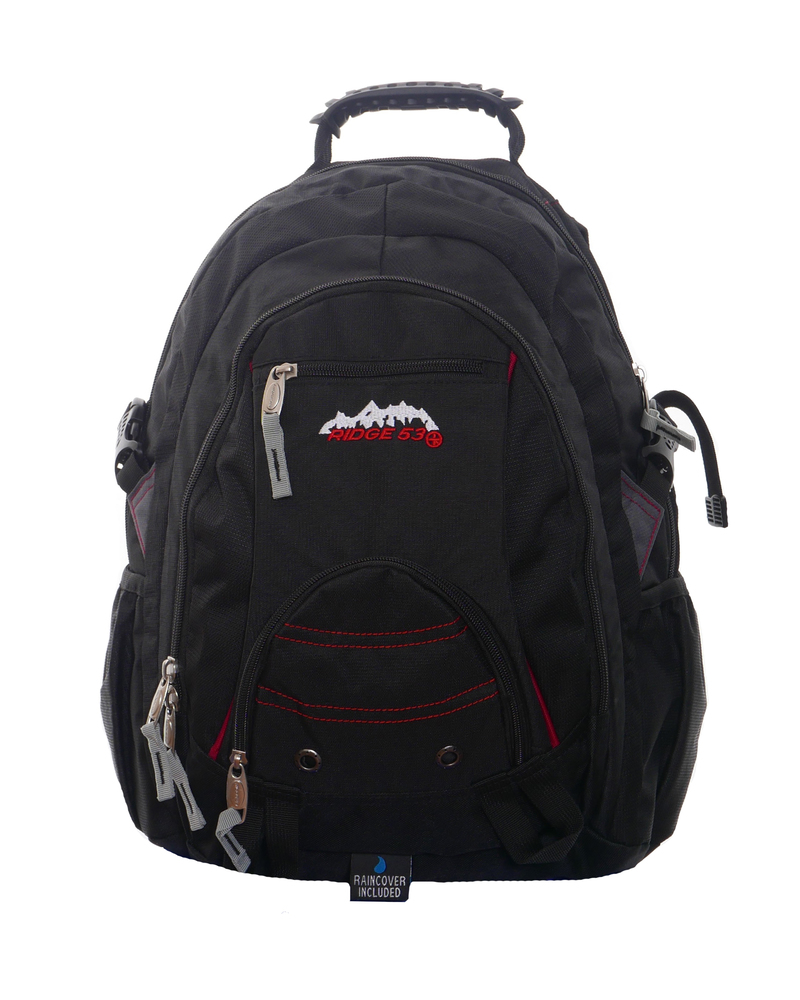 Ridge53 Bolton Black School Bag