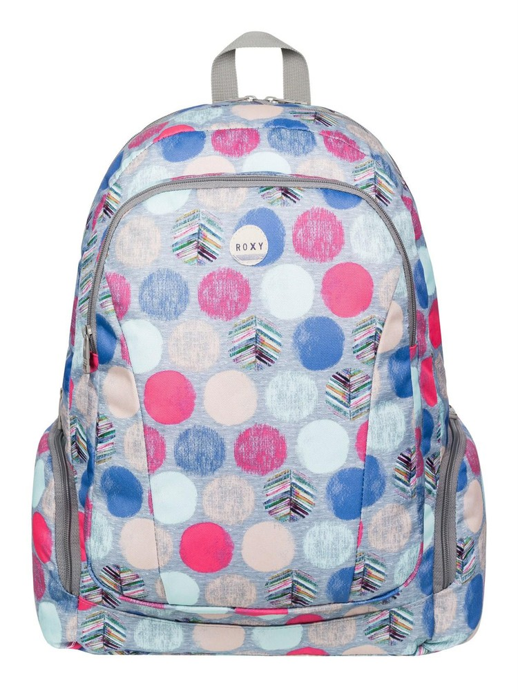 Roxy Alright Laptop Friendly Backpack - Ax Leaf Dots SGRH