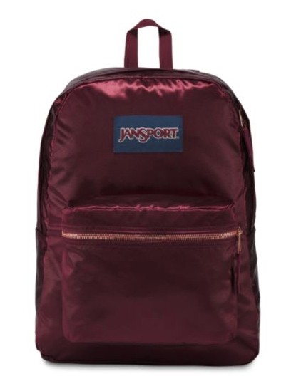 JanSport High Stakes Russet Red/Gold
