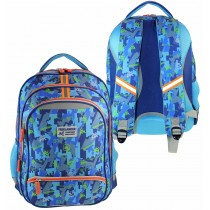 Freelander Blue Comfort and Safety Backpack