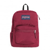 JanSport Cross Town Russet Red Backpack