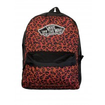 Vans Realm Red Leopard Print